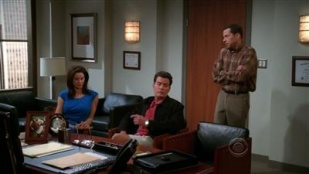 Two and a Half Men 07x14 : Crude and Uncalled For- Seriesaddict